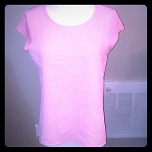 Pink NY&CO top.
